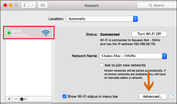 how to find router ip address on macbook