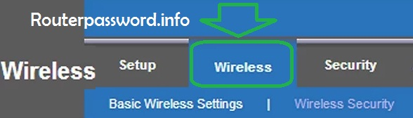 Changing the router's wireless network name