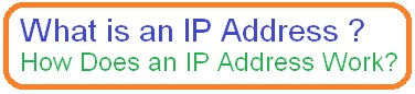 What is an IP Address and How Does an IP Address Work