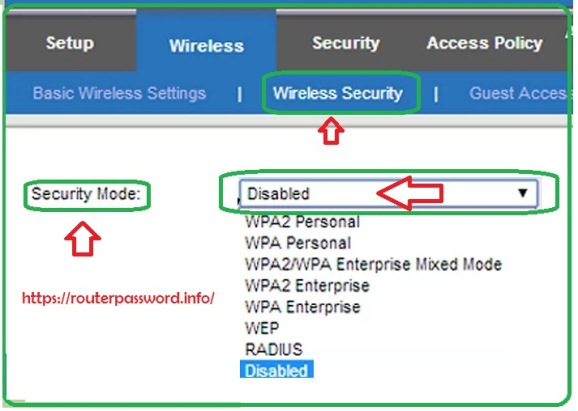 how to change linksys router name and password