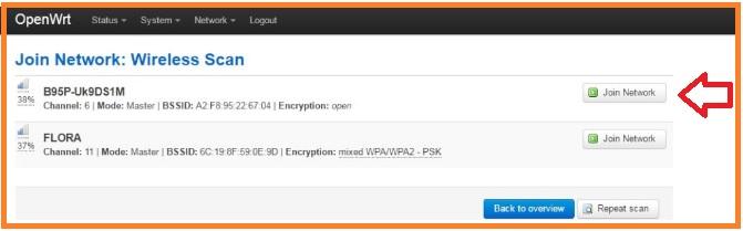 OpenWrt Client Router (WISP) Configuration