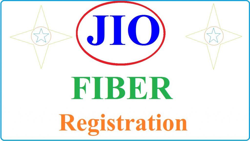 JIO FIBER Registration